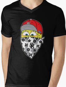 Sponge gang Mens V-Neck T-Shirt