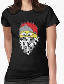 Sponge gang Womens Fitted T-Shirt