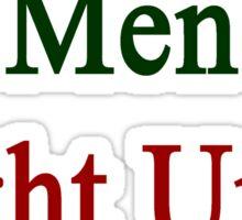 Portuguese Men Fight Until We Die Sticker