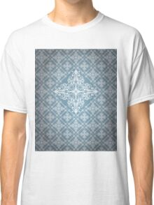 Abstract Geometric Pattern - Curly Vector Squares Classic T-Shirt
