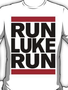 RUN LUKE RUN (Black font) T-Shirt
