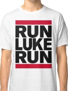 RUN LUKE RUN (Black font) Classic T-Shirt