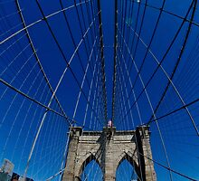 brooklyn bridge by paulcowell