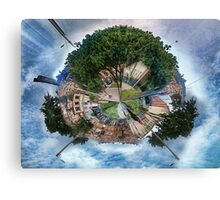 The Big Tree, The Little Planet. Canvas Print