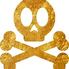 Poison Skull and Cross Bones ( GOLD ) by Mehdals