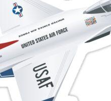 Thunderbirds Air Demonstration Team  Sticker