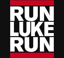 RUN LUKE RUN (White font) Unisex T-Shirt