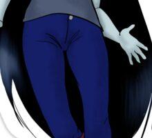 Marceline Flying Sticker