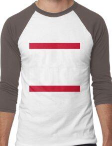 RUN LUKE (White font) Men's Baseball ¾ T-Shirt