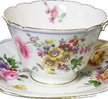 tea cup by lazyville