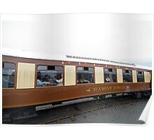The Brighton Belle Pullman Diamond Jubilee coach Poster