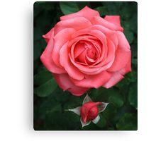Tropicana Rose Canvas Print