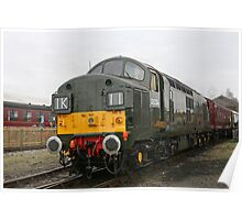 British Rail class 37 diesel-electric Locomotive Poster