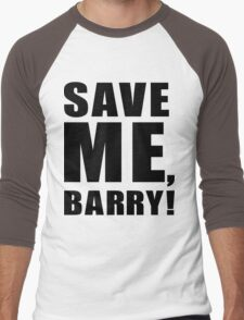 Save Me, Barry! Men's Baseball ¾ T-Shirt