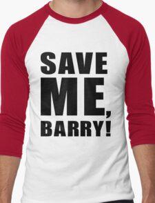 Save Me, Barry! Men's Baseball ¾ T-Shirt