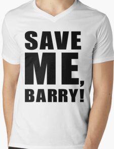 Save Me, Barry! Mens V-Neck T-Shirt