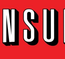 Consume (Sticker) Sticker