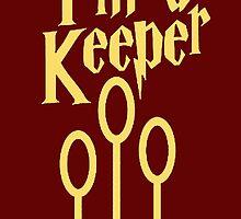 I'm a keeper by Samantha Lusher