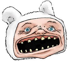 Ugly Finn (Head) by StudioAcramill
