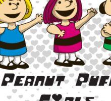 Peanut Puff Girls Sticker Sticker
