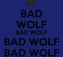 Keep calm - Bad Wolf Stickers by salodelyma