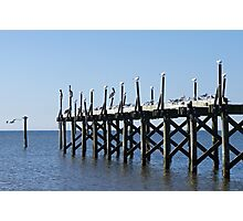 Abandoned Pier Photographic Print