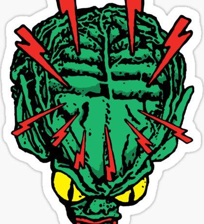 Lysergic Saucer-Man Sticker