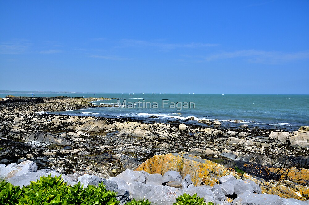 A Blue Skerries Sky by Martina Fagan