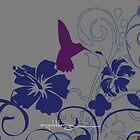 Bird Flower by akdesign