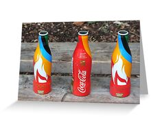 olympic torch relay plymouth  Greeting Card