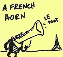 French Horn by frikafrikafresh