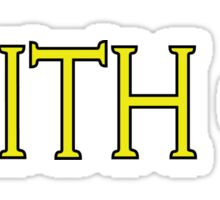 Faith Plus One Sticker