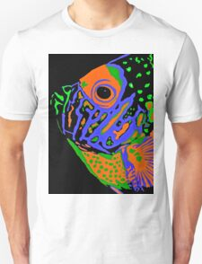 Angel Fish Swimming in the Sea #2 T-Shirt