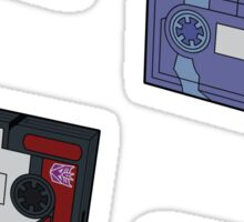 Decepticon Cassettes (stickers, set I) / pillow / tote bag Sticker