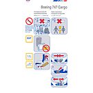 Air France Boeing 747 Cargo safety card by MrYum