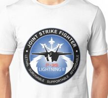 F-35 Lightning II Program Logo Unisex T-Shirt