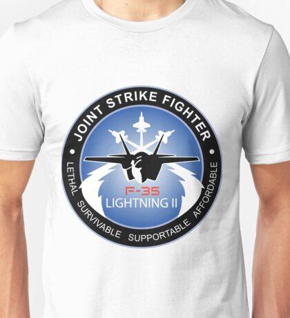 F-35 Lightning II Program Logo Unisex T-Shirt