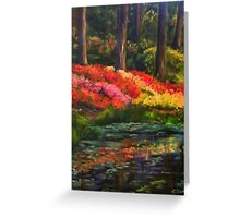 """Beside Still Waters"" Greeting Card"