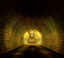Tunnel Under The Tyne by Great North Views