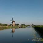 Windmill in Kinderdijk by Sami Wong