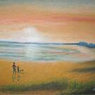 Evening Walk by Hilary Robinson