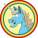 Blue Unicorn by Zero Dean