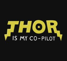 Thor is my Co-Pilot by vonplatypus