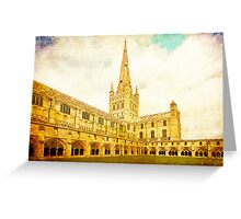 Norwich Cathedral Greeting Card