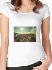 Dubrovnik Sunshine  Women's Fitted Scoop T-Shirt