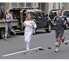 Olympic Flame, Ingram St., 2 Photographic Print