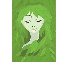 Mother Earth (Eyes Closed) Photographic Print