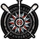 The Wanderers (STICKER - BLACK) by MiniMoose
