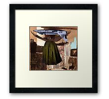 Pop Goes the Easel. Framed Print