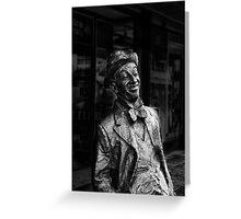 Roy Rene Mo sculpture  Greeting Card